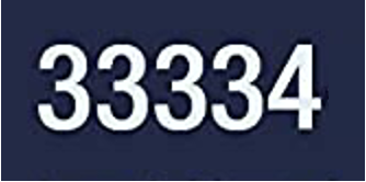 What is the significance of 33334?