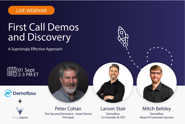 Webinar Recording:  First Call Demos and Discovery – A Surprisingly Effective Approach